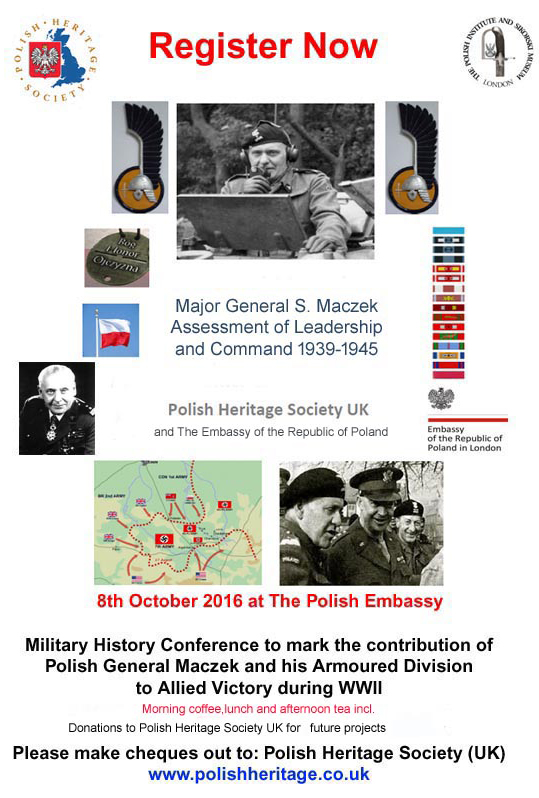 eneral Maczek and Falaise Gap Conference 2016